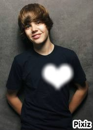 tout le monde a de la place dans le coeur de Justin Bieber