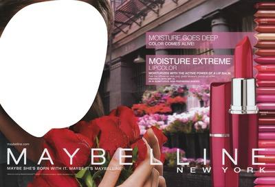 Maybelline Moisture Extreme Lipstick Advertising
