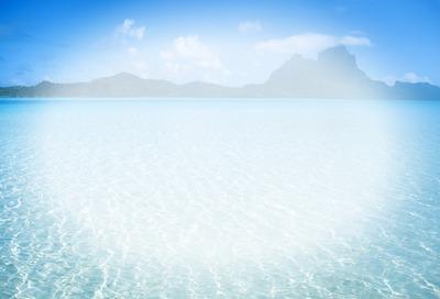 Fond sur mer