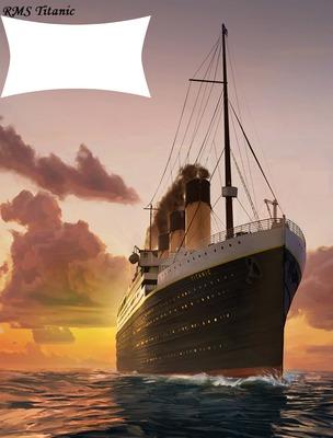 "RMS Titanic ""Puesta de sol"""