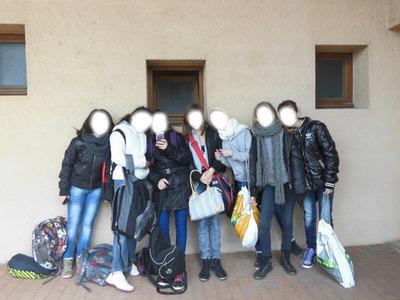 photo de classe qu'avec des amies