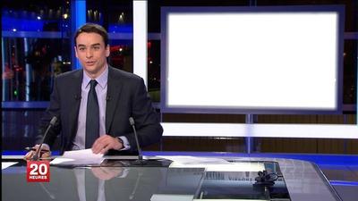 A LA UNE DU JOURNAL TV