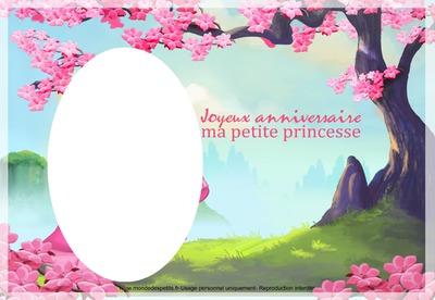 Anniversaire petite princesse