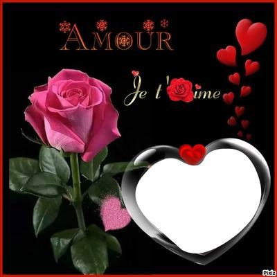 renewilly rosa y corazones con fotp
