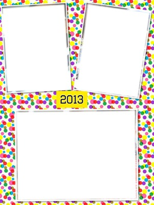 2013 confettis