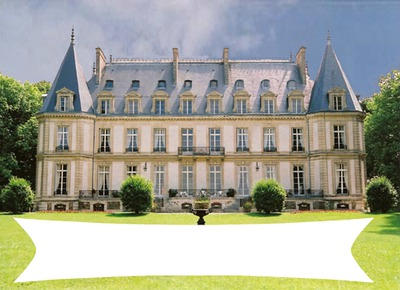 Chateau avec toile