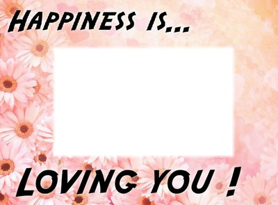 Happiness is loving you rectangle love 1
