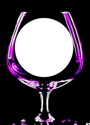 neon wine glass glow-hdh