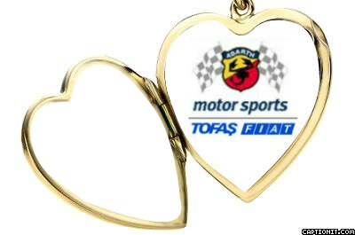 Tofaş - Fiat Abarth Motorsports Gold Necklace
