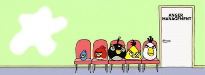 Angry bird couverture facebook