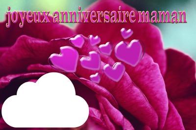 Photo Montage Joyeux Anniversaire Maman Pixiz