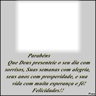 """Um Niver Feliz! By""""Maria Ribeiro"""""""