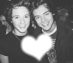 Bradley Simpson et Harry Styles