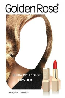 Golden Rose Ultra Rich Color Lipstick Advertising 2