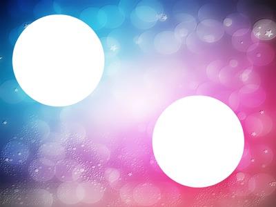 Modification Dégradé couleurs bleu/rose