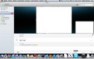 Skype montage