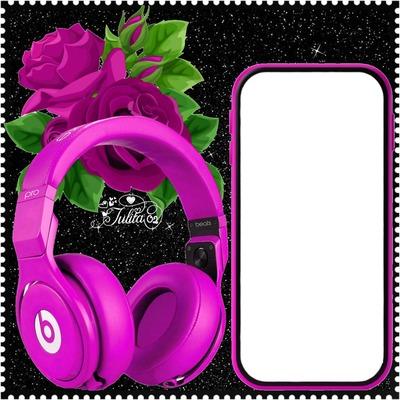 Julita02 Celular y audífonos