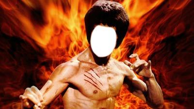 Visage de Bruce Lee