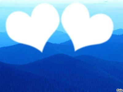 bleu de coeur de salva
