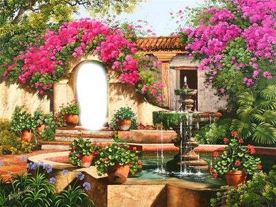 Montaje fotografico jardin fleuri pixiz for Jardin fleuri lyon 9