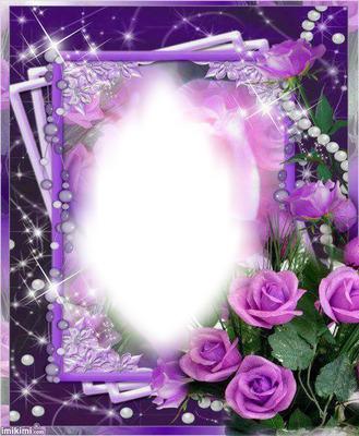 cadre violet
