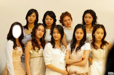 nine angel Girl's Generation