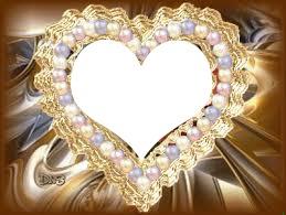coeur perlé