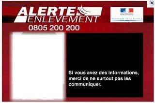 alerte enlèvement