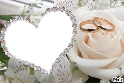 Coeur de mariage