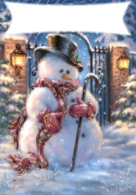 noel bohnomme de neige