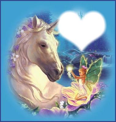 cheval et fèe
