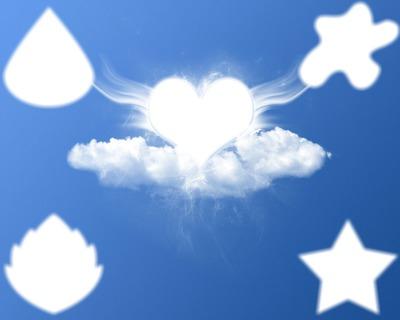 amour dans les nuages