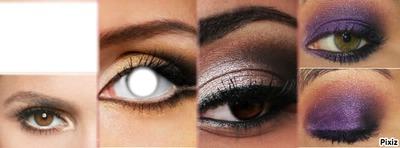 capa para facebook olho com maquiagens