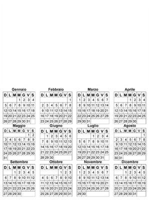 calendario lorenzo 2020