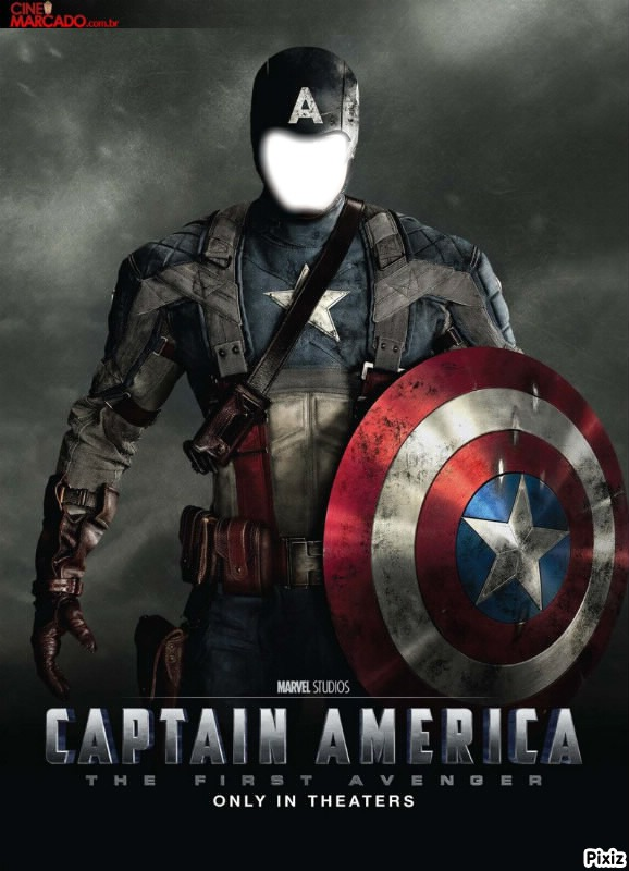 Montaje Fotografico Captain America Pixiz