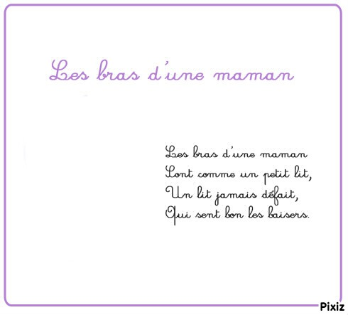 Famous Montage photo poeme pour maman - Pixiz MF49