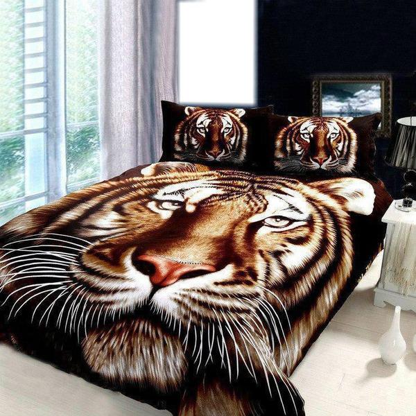 montage photo lit de tigre pixiz. Black Bedroom Furniture Sets. Home Design Ideas