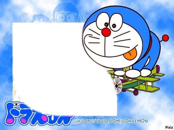 Photo montage Doraemon
