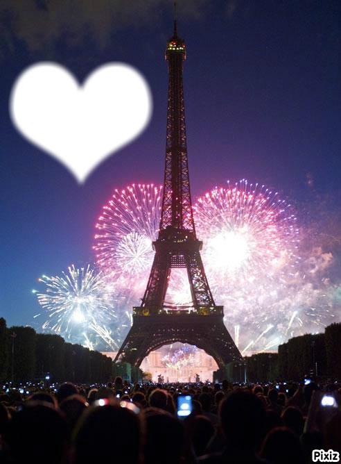 Montaje Fotografico Torre Eiffel Pixiz