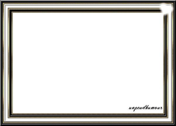 montage photo cadre noir et blanc pixiz