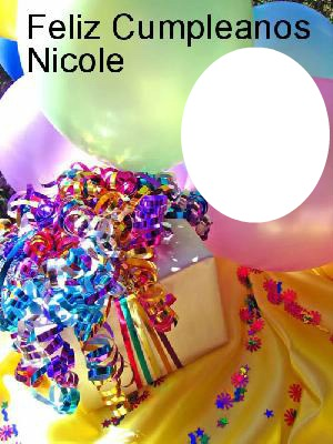 Feliz cumpleanos princesa nicole