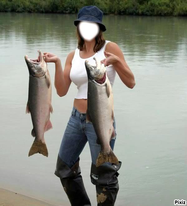 Montage photo belle peche pixiz for Women s fishing waders