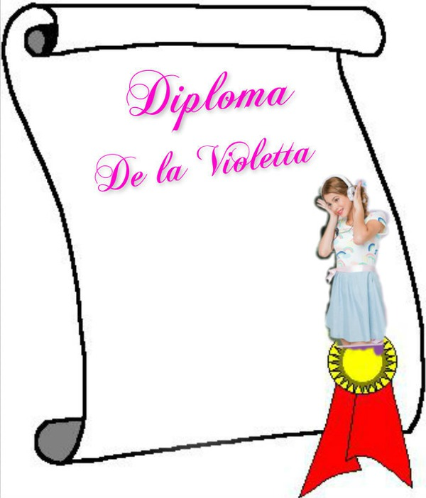 Montage photo Diploma de la Violetta - Pixiz