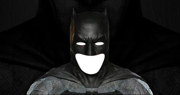 Photo Montage Batman Face Pixiz