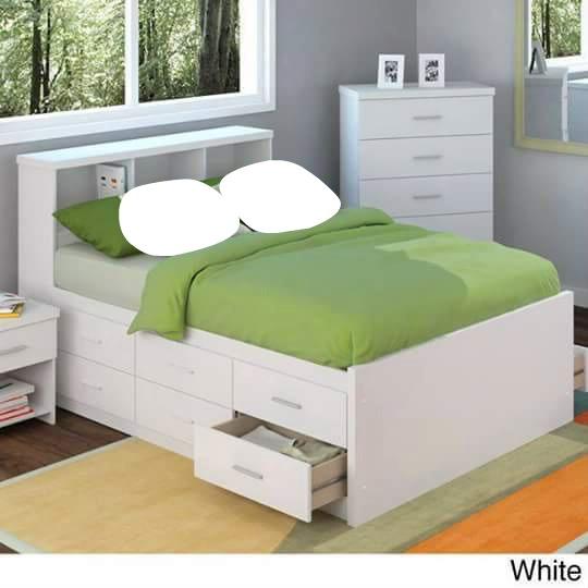 montage photo lit pour deux pixiz. Black Bedroom Furniture Sets. Home Design Ideas