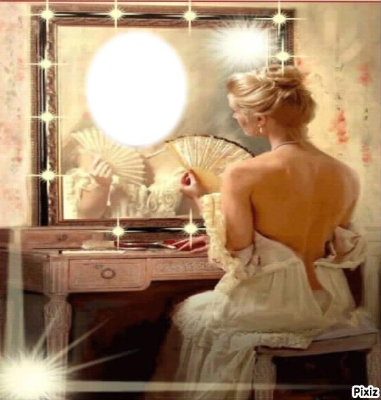 Montage photo miroir mon beau miroir pixiz for Beaux miroirs