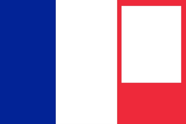 Photo montage france flag 1 pixiz