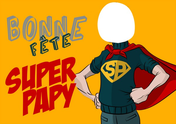 Papy toujours en forme