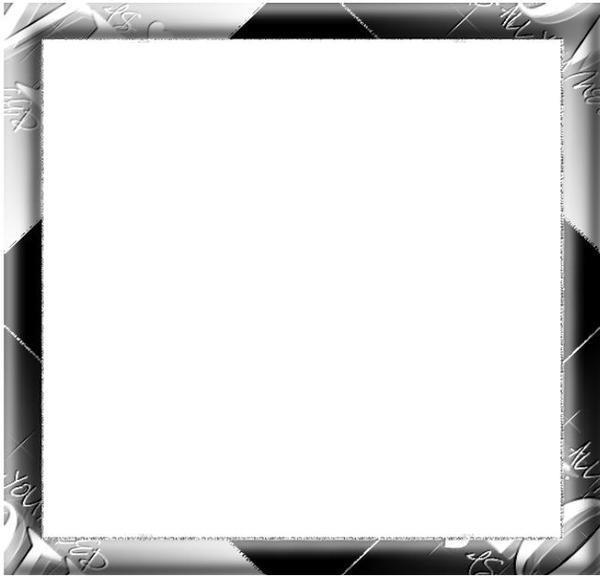 montaje fotografico cadre carre noir et blanc pixiz. Black Bedroom Furniture Sets. Home Design Ideas