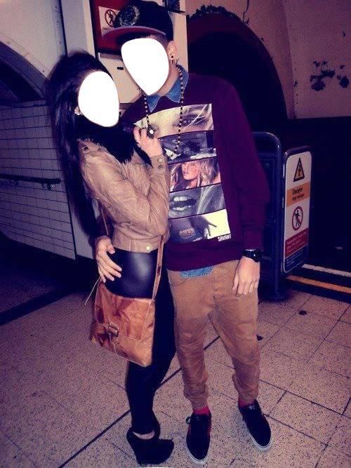 Photo montage trop beaux en couple swag pixiz - Photo couple swag ...